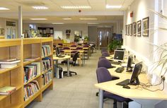 demco library designs | claremont high school demco designed and furnished the new library at ...