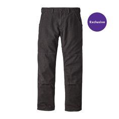 M's Iron Forge Hemp™ Canvas Double Knee Pants - Short, Ink Black (INBK)