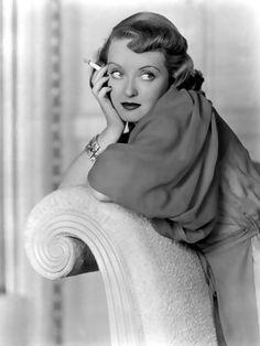 Bette Davis and her iconic cigarette