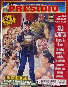 "Mexican True Crime Comic Series ""Relatos de Presidio"" #760 - ""Increíble: Un Policía Honorable"" by Editorial Toukan http://www.amazon.com/dp/B00LZ8GOYC/ref=cm_sw_r_pi_dp_YqrEvb1MPPN1W"