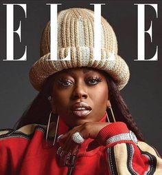 Missy Elliott on the cover of ELLE, June 2017