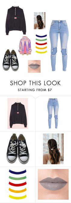"""moda4"" by denisa13alexandra on Polyvore featuring Converse, Charlotte Russe, Rituel de Fille and Miss Selfridge"