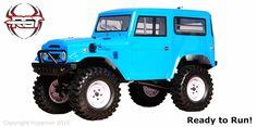 RGT 1/10 ロッククルーザー RC-4 ブルー