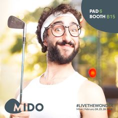 #MIDO2018 #Livethewonder
