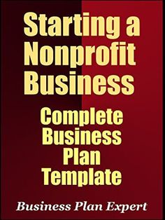How To Structure An Effective Business Plan Free Template BIZ - Free nonprofit business plan template