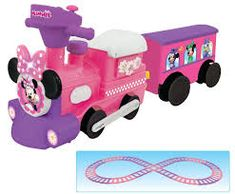 Image result for minnie mouse train