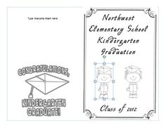 Designs : Amazing Free Preschool Graduation Program