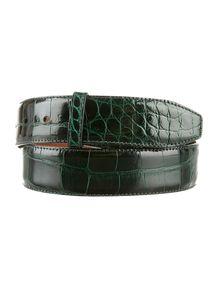 Barry Kieselstein-Cord Alligator Belt Strap
