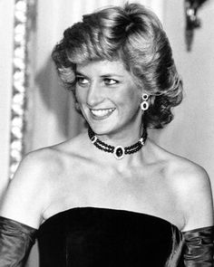 """November 4 1987 Charles & Diana attend a Gala Performance of Mozart's """"The Marriage of Figaro""""   at the Bavarian State Opera at the National Theater in Munich"""