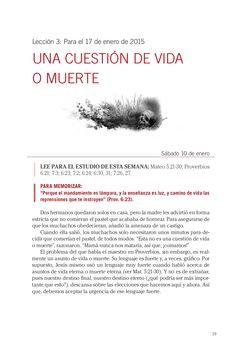 Leccion adultos UNA CUESTION DE VIDA O MUERTE by Escuela Sabatica via slideshare #LESAdv Descargue aqui: http://gramadal.wordpress.com/