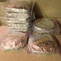 Becker Bombs: Freezer Meal Marathon!