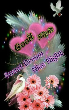 Good night sister and all,have a peaceful sleep,God bless xxx❤❤❤✨✨✨🌙🍀❄🍀 Beautiful Good Night Quotes, Lovely Good Night, Good Night Flowers, Romantic Good Night, Good Night Prayer, Good Night Blessings, Good Night Gif, Good Night Sweet Dreams, Good Night Friends Images