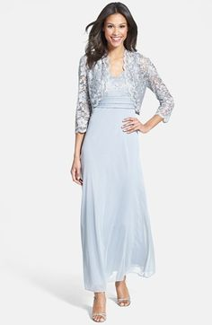 Patra Lace Overlay Gown & Bolero (Regular & Petite) available at #Nordstrom.  @julie jones