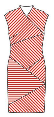 Make in any striped fabric using Burda Pattern http://www.pinterest.com/pin/212091463673950698/