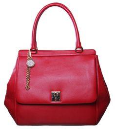 de00e033dff Dolce  amp  Gabbana Red Miss Sicily Leather Handbag ( 2,285) ❤ liked on  Polyvore