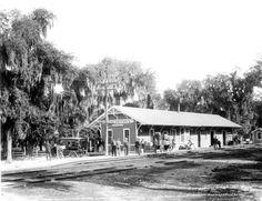 Florida Memory - Southern Express Company railroad depot - New Smyrna, Florida