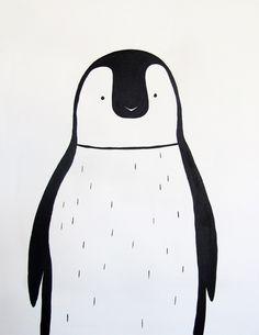 pinguin portrait