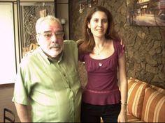 Hildo Magno (Vice- Presidente do TTC) e a jornalista Flávia Almas. — com Hildo Magno e Flávia Almas.