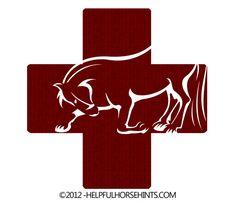 Horse Health Log – Cover | Helpful Horse Hints