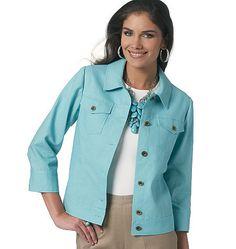 Butterick - B5616 Misses' Jacket - WeaverDee.com Sewing & Crafts - 1