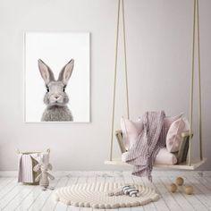 40 Ideas baby girl nursery ikea playrooms for 2019 Ikea Playroom, Ikea Nursery, Baby Playroom, Bunny Room, Bunny Nursery, Girl Nursery, Baby Wall Art, Nursery Wall Art, Baby Prints
