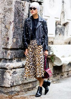 Street Style φορώντας Ankle Boots