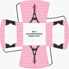 Paris: Free Printable Boxes.