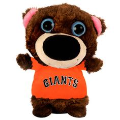 "MLB - San Francisco Giants 8"" Big Eye Plush Bear >> ADORABLE! @bellarogue32 #sfgiants"