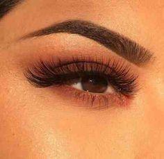 Brown eye look