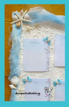 """SEA"" WEDDING THEME - Seating Plan + Place Cards - TABLEAU MARIAGE TEMA ""MARE"" E SEGNAVOLO -"