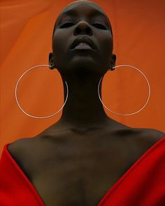 Black models - Beauty World Photo Reference, Art Reference, Kreative Portraits, Photographie Portrait Inspiration, Black Girl Aesthetic, Orange Aesthetic, Drawing People, Black Is Beautiful, Portrait Photography