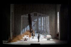 Die Walküre at the 2000-2004. Production by Jürgen Flimm.