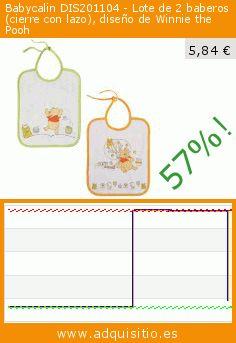 Babycalin DIS201104 - Lote de 2 baberos (cierre con lazo), diseño de Winnie the Pooh (Producto para bebé). Baja 57%! Precio actual 5,84 €, el precio anterior fue de 13,48 €. https://www.adquisitio.es/babycalin/dis201104-lote-2-baberos