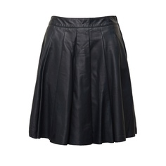 ASOS Premium Pleated Leather Skirt $154 - 5 Faves for Fall on InStyle