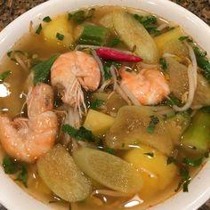 Tamarind Shrimp Soup