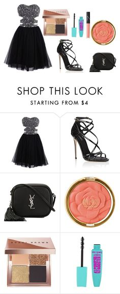 """Prom"" by dogs109 ❤ liked on Polyvore featuring Dolce&Gabbana, Yves Saint Laurent, Milani, Bobbi Brown Cosmetics and NARS Cosmetics"