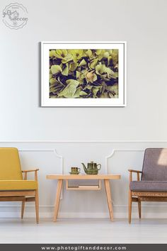 This green Hydrangea bouquet close-up photography is inspirational wall art. A simple beautiful fine art photography of nature texture. Teen Room Decor, Living Room Decor, Bedroom Decor, Dorms Decor, Nursery Decor, Green Hydrangea Bouquet, Luxury Home Accessories, Ideas Cafe, Hawaian Party