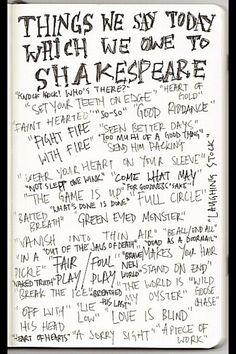 Love Shakespeare!