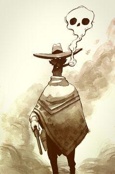 """Cowboy"" feito para o tema semanal do grupo 4forFAN. https://www.facebook.com/groups/4forFAN/"