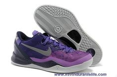 sports shoes 037cd 95fba Nike Kobe 8 System 555035-500 Womens Court Purple Pure Platinum-Blackened  Blue-