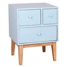 Porthos Home Zooey Modern 3-Drawer Side Table | Overstock.com Shopping - The Best Deals on Coffee, Sofa & End Tables
