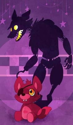 Cute but scary at the same time dont you think? I think its cute foxy is bae looking for a foxy im mangle❤️️ Five Nights At Freddy's, Animatronic Fnaf, Pichu Pokemon, Ps Wallpaper, Foxy And Mangle, Fnaf Wallpapers, Freddy 's, Fnaf Characters, Fnaf Sister Location