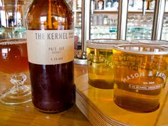 """moving beyond """"real ale"""" in London"""