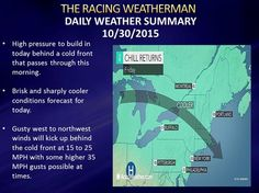Series of cold fronts brings a return to Autumn chill for the weekend