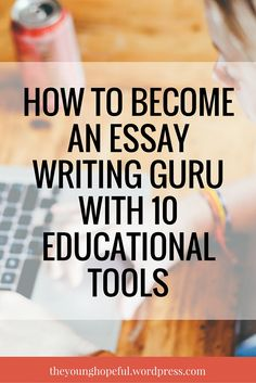 Learn how to become an essay writing guru with these awesome tools that you'll wish you knew about years ago! Essay Writing Skills, Narrative Essay, Writing Strategies, Argumentative Essay, Academic Writing, Study Skills, Teaching Writing, Writing Help, Writing Papers