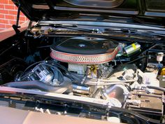 1970 Plymouth 'Cuda Engine - Fast & Furious 6 Car