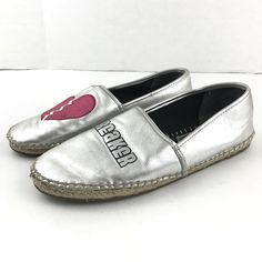 05d55dcf3 Women s Shoes · 15.99 USD ❤ Circus Sam Edelman Espadrille 7.5 Heartbreaker  Silver Loafer Slip On Leni Flat ❤