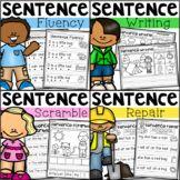 My Teaching Pal Teaching Resources   Teachers Pay Teachers Literacy Skills, Literacy Centers, Educational Math Games, Editing Checklist, Simple Sentences, Sentence Writing, Editing Writing, Class Activities, Student Reading