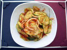 Oi Muchim (Cool & Spicy Cucumber Salad)