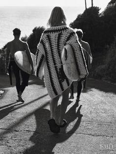 black and white + photography + beach + Sofie Hemmet + Gregory Harris + Vogue Paris. Styled by Geraldine Saglio + Rudi Lewis + Petros Petrohilos X Games, Burton Snowboards, Beach Editorial, Editorial Fashion, Vogue Paris, Michael Jordan, Surf Biarritz, 1990 Style, Le Grand Bleu